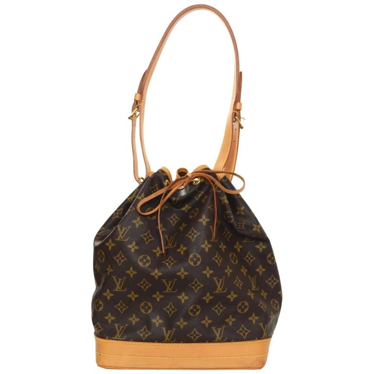 63e4b695dfc5 Louis Vuitton Vintage Monogram Noe GM Bucket Bag For Sale at 1stdibs