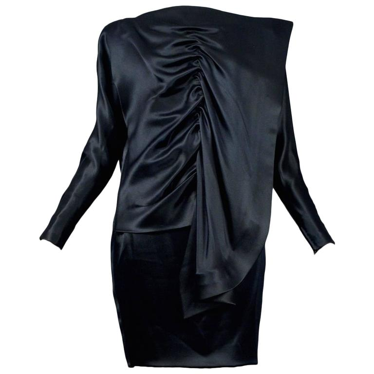 Pierre Cardin Couture Satin Fin Dress