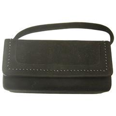 Vintage 80s Mam'selle Suede Handbag