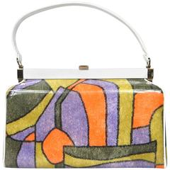 Vintage Mod 1960s Hand Bag New Old stock