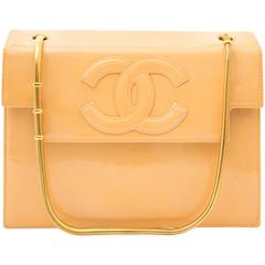 Chanel Moutarde Patent Flap Bag