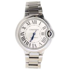 Cartier Stainless Steel 33mm Ballon Bleu De Cartier Watch