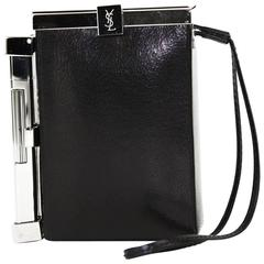 New Tom Ford for Yves Saint Laurent S/S 2001 Leather Cigarette Case and Lighter