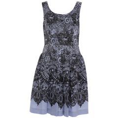 Prada Printed Viscose Silk Nylon Sleeveless Dress, Circa 2011