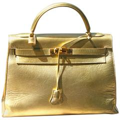 HERMES Kelly Golden 32'