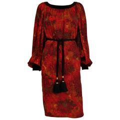 Yves Saint Laurent Patron Original Numbered Dress