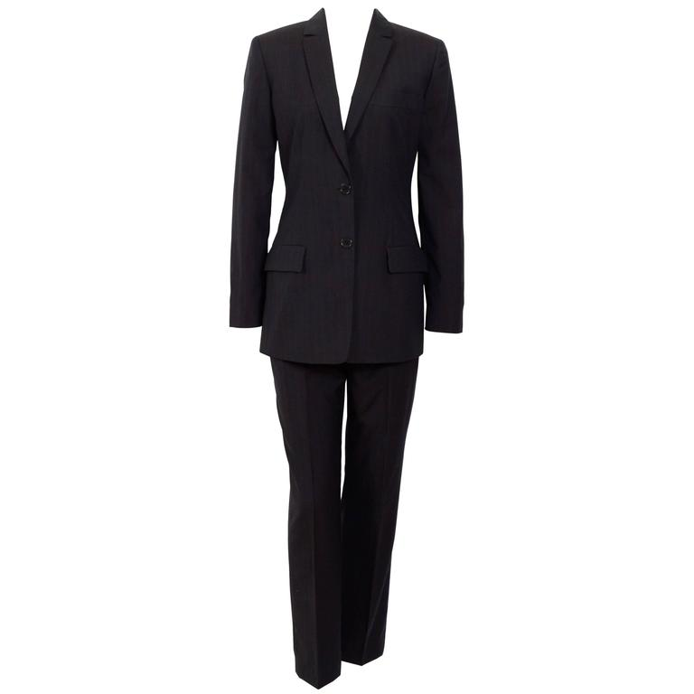 CALVIN KLEIN Collection 1990's Pin Stripe Suit
