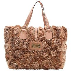 Valentino Buisson Rose Tote Bag