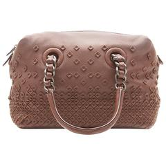 Bottega Veneta Embellished Leather Tote Bag