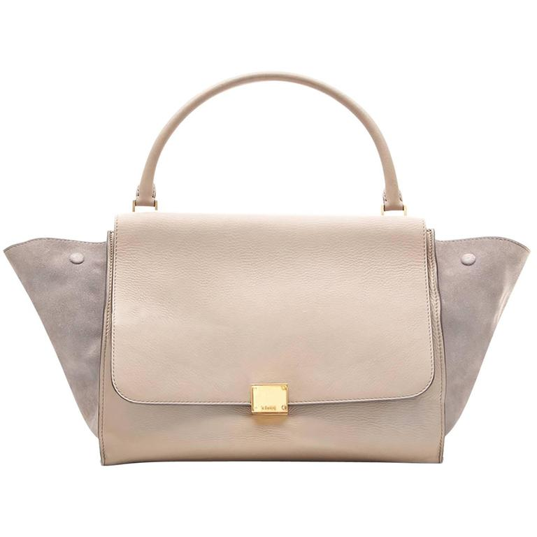 Celine Medium Trapeze Tote Bag