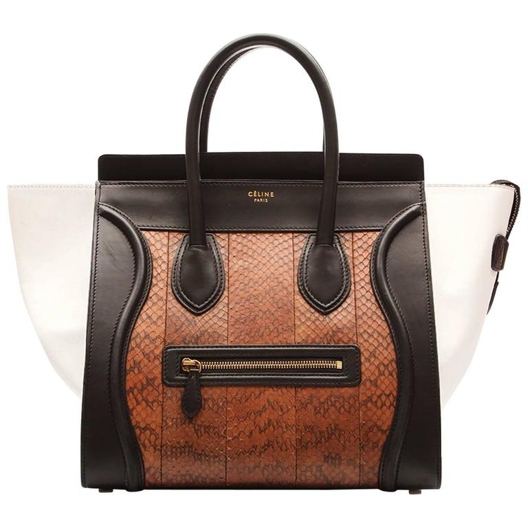 Celine  Medium Luggage Tote Bag