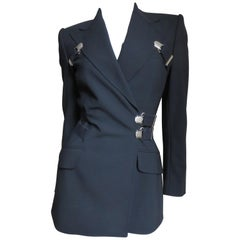 Dolce & Gabbana Vintage Bondage Garter Jacket