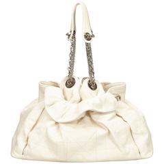 Dior White Leather Le Trente
