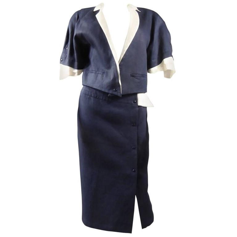 Claude Montana Skirt Suit