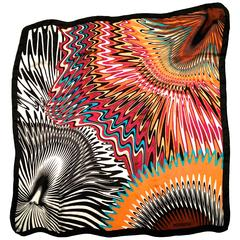Missoni Silk Scarf - Brown Label with new packaging