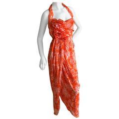 Christian Dior Spring Summer 2011 by John Galliano Sarong Style Dress