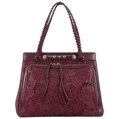 Valentino Demetra Tote Leather Lace