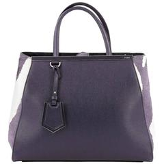Fendi 2Jours Handbag Pony Hair and Leather Medium