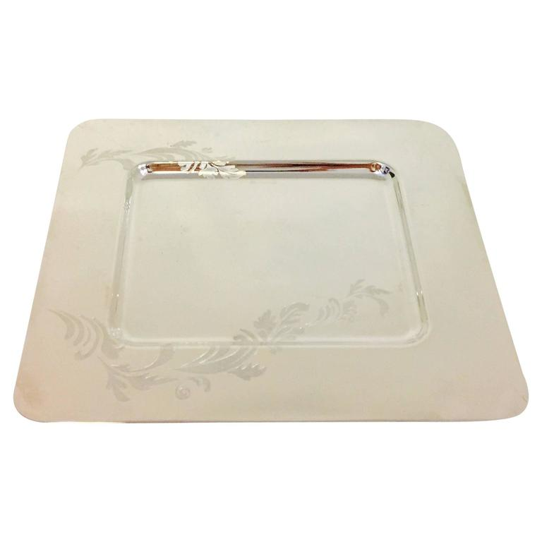 Christofle Silver Plated Dish/Tray Perfect for Special Day or a Wedding! In Box