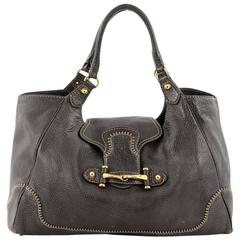 Gucci New Pelham Tote Leather Large
