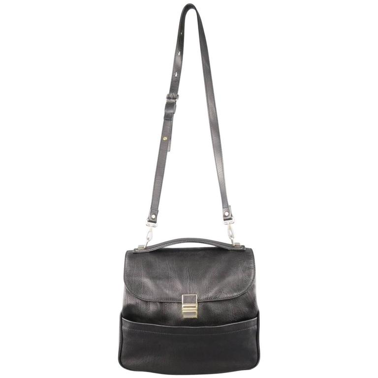 PROENZA SCHOULER Black Leather KENT Handbag