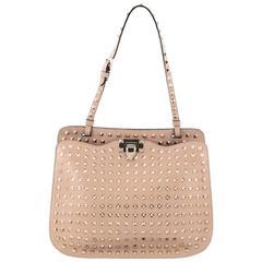 Valentino Rockstud Shoulder Bag Full Studded Leather