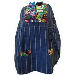 1970s Guatemalan Embroidered Cape