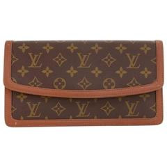 Vintage Louis Vuitton Pochette Dame PM Monogram Canvas Clutch Bag