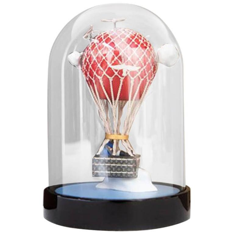 LOUIS VUITTON Hot Air Balloon Snow Globe VIP For Sale