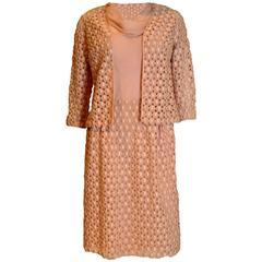 Guy Laroche  Pink Dress and Jacket