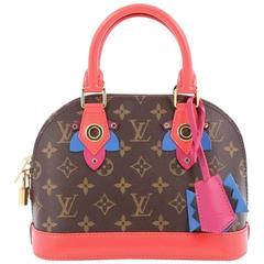 Louis Vuitton Alma Handbag Limited Edition Totem Monogram Canvas BB