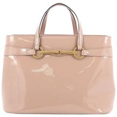 Gucci Bright Bit Satchel Patent Medium