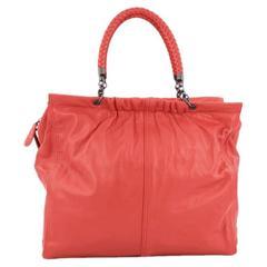 Bottega Veneta Chain Frame Shoulder Bag Leather Large