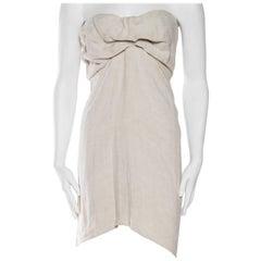 1990s Donna Karan Minimalist Jersey Dress