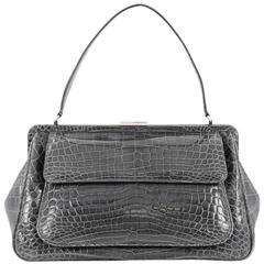 Tiffany & Co. Laurelton Handbag Crocodile