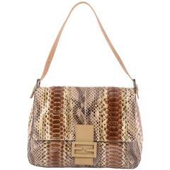 Fendi Mama Forever Handbag Python