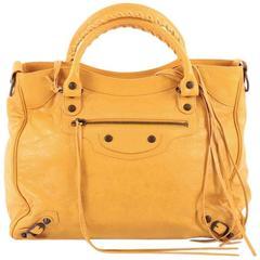 Balenciaga Velo Classic Studs Handbag Leather