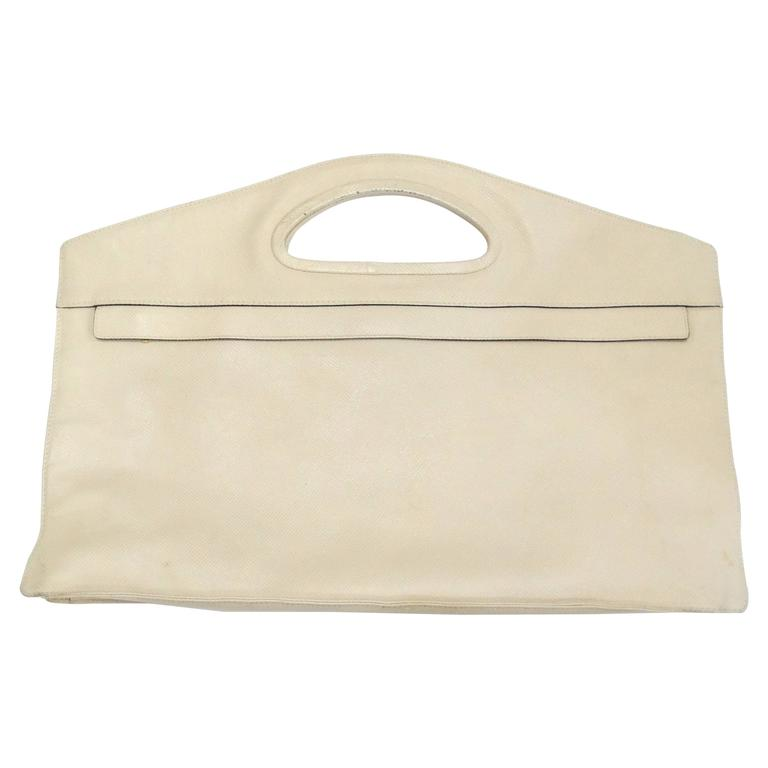 1980s Bottega Veneta Rectangular Handbag