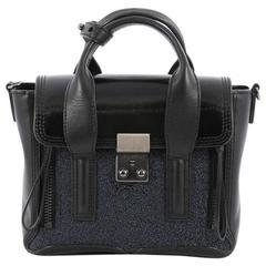 3.1 Phillip Lim Pashli Satchel Leather with Glitter Mini