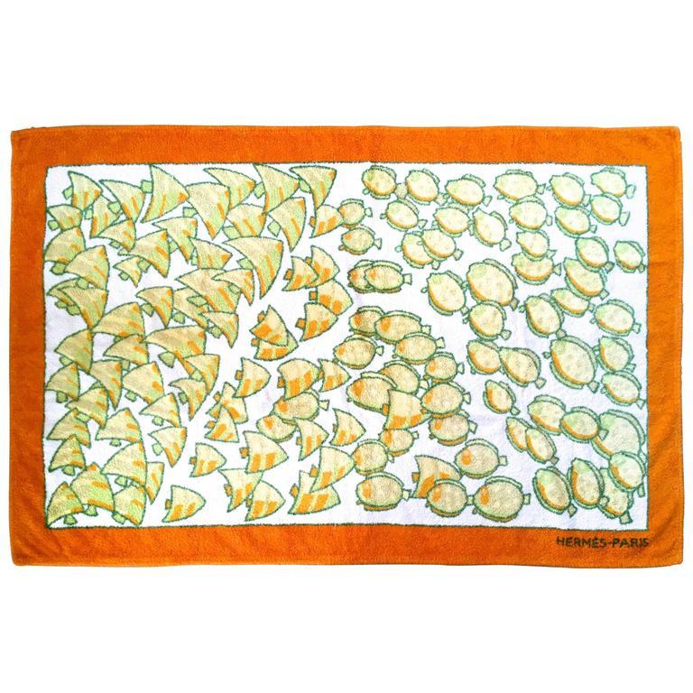 Rare Hermes Beach Towel