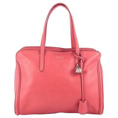 Alexander McQueen Padlock Zip Around Tote Leather Medium