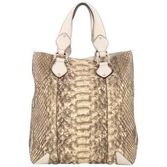 Gucci Creole Tote Python Large