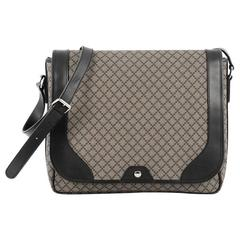 Gucci Snap Messenger Bag Diamante Coated Canvas Large