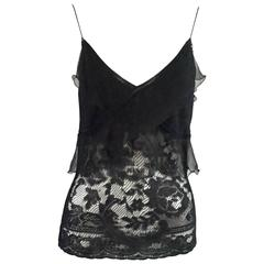 Christian Dior Black Camisole Top - M - NWT
