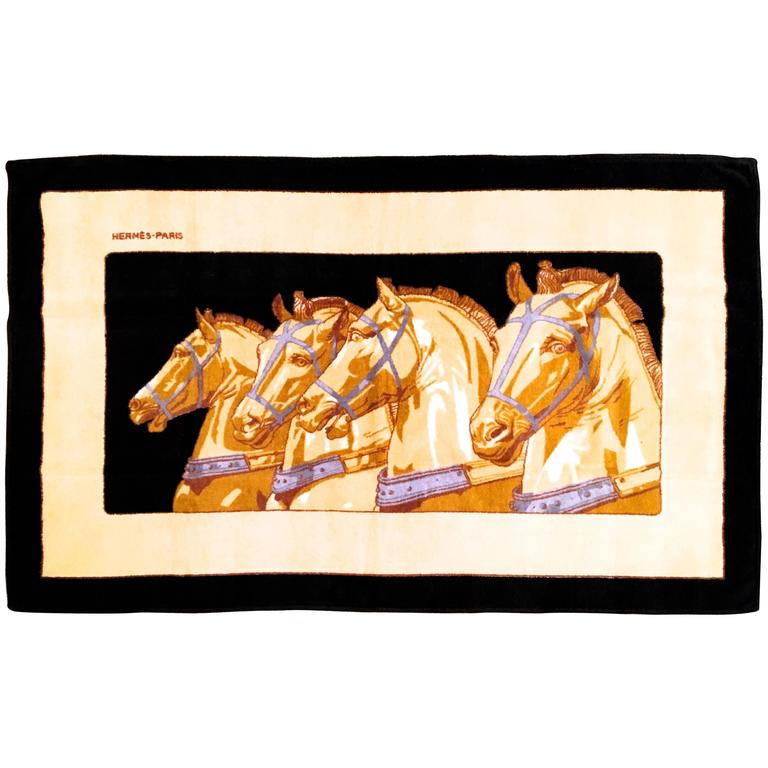 Hermes Beach Towel - 100% Cotton 1