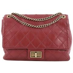 Chanel Cosmos Flap Bag Quilted Calfskin Jumbo