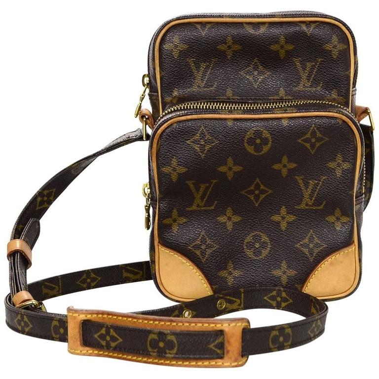 896f0222dc01 Louis Vuitton Monogram Amazon PM Crossbody Camera Bag at 1stdibs