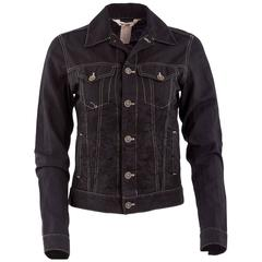 Comme des Garçons Embroidered Denim Jacket