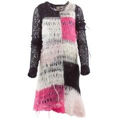 Tao Comme Des Garçons Hand Knit Mohair Dress