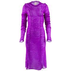 Tao Comme Des Garçons Mohair Knit Dress
